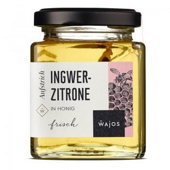 Ingwer-Zitrone in Honig
