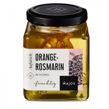 Orange-Rosmarin in Honig