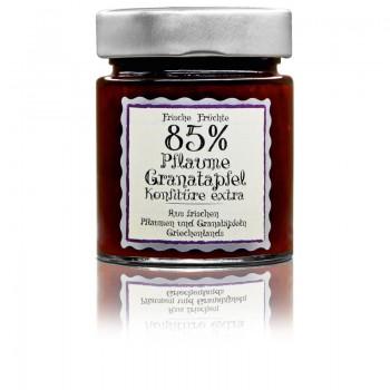 Pflaume-Granatapfel Konfitüre-extra