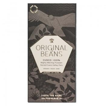 Original Beans Organic Choc Bar Cusco Chuncho 100%