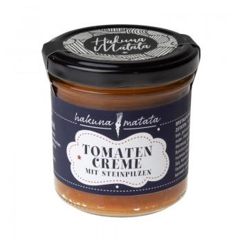 Tomaten Creme mit Steinpilzen