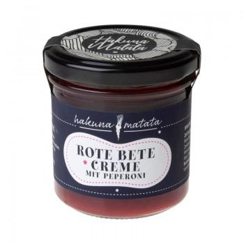Rote Bete Creme mit Peperoni