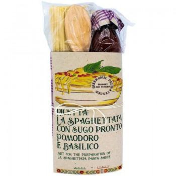Pasta Kit La Spaghettata Pomodoro e Basilico