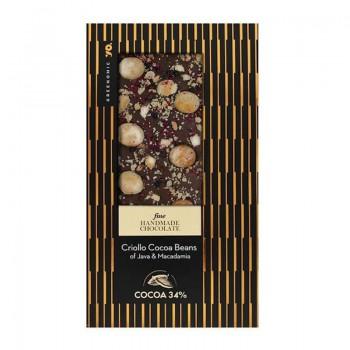 Fine Chocolate Criollo Cocoa Beans of Java & Macadamia