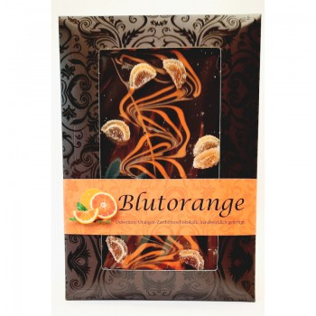 Blutorangen-Schokolade
