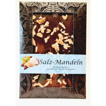 Salz-Mandel Schokolade
